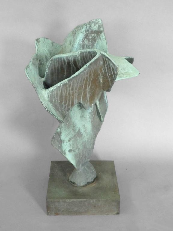 Organic Free-Form Abstract Bronze Sculpture 4