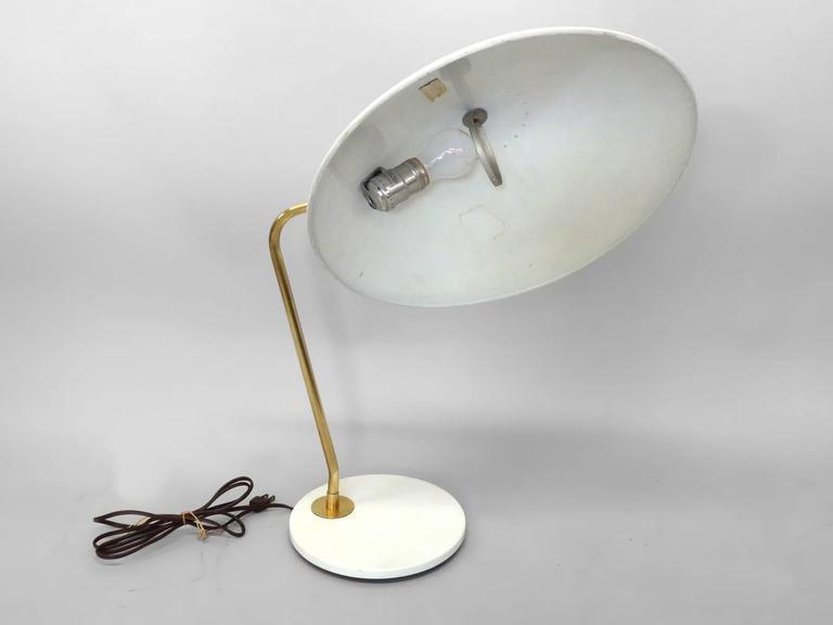 Aesthetic Movement Gerald Thurston for Lightolier Desk Lamp For Sale
