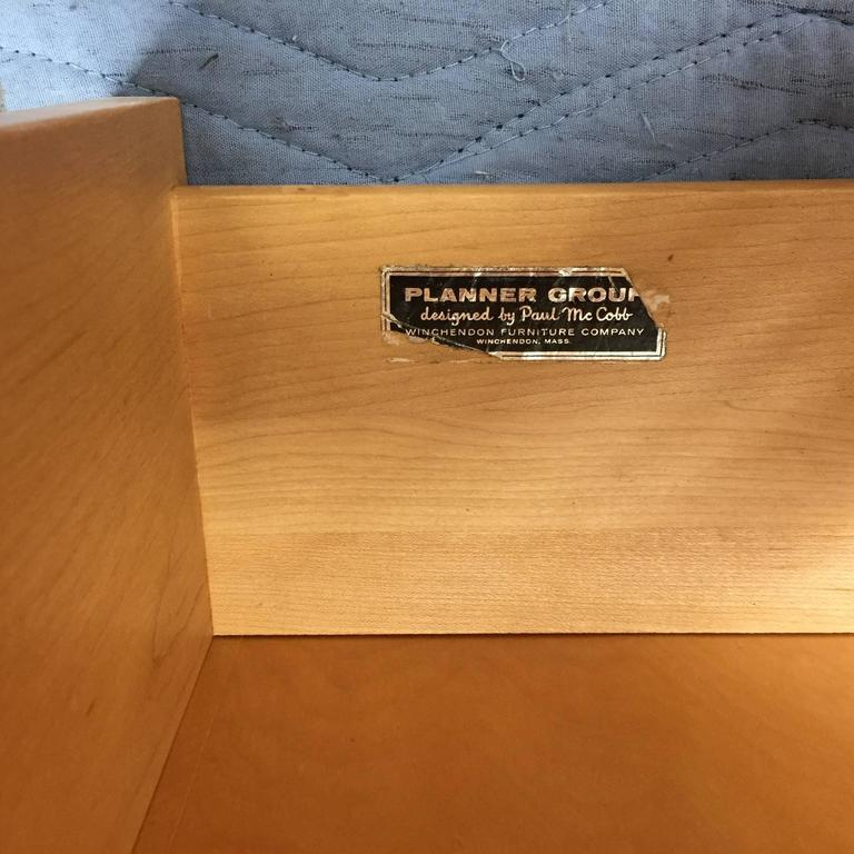 American Paul McCobb Planner Group Low Chest For Sale