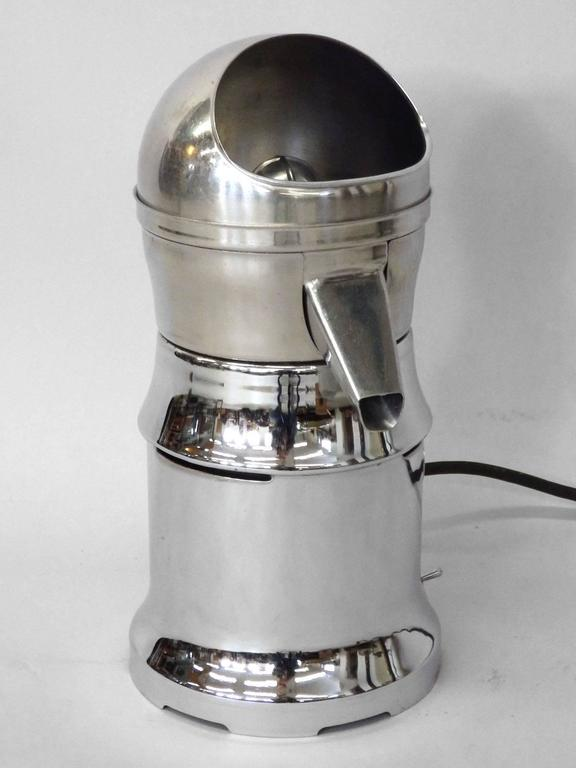 ... Finish Art Deco Countertop Industrial Juicer For Sale at 1stdibs