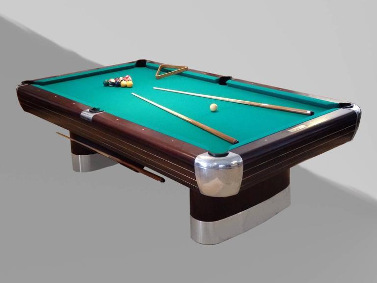 Pool Table By Donald Deskey For Brunswick  Balke  Collender.