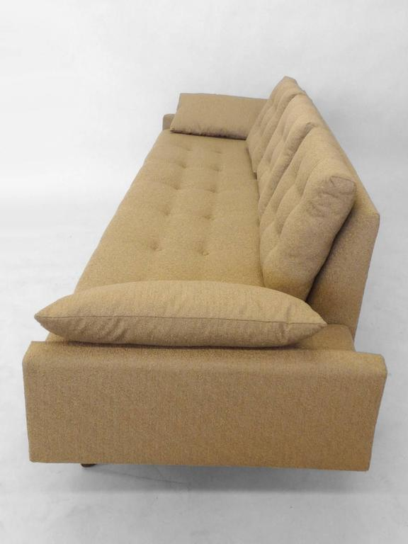 20th Century Adrian Pearsall Craft Associates Large Gondola Sofa For Sale