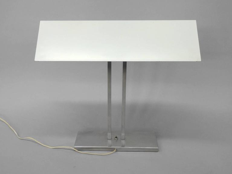 Mid-Century Modern Greta Von Nessen Banker Style Desk Lamp For Sale