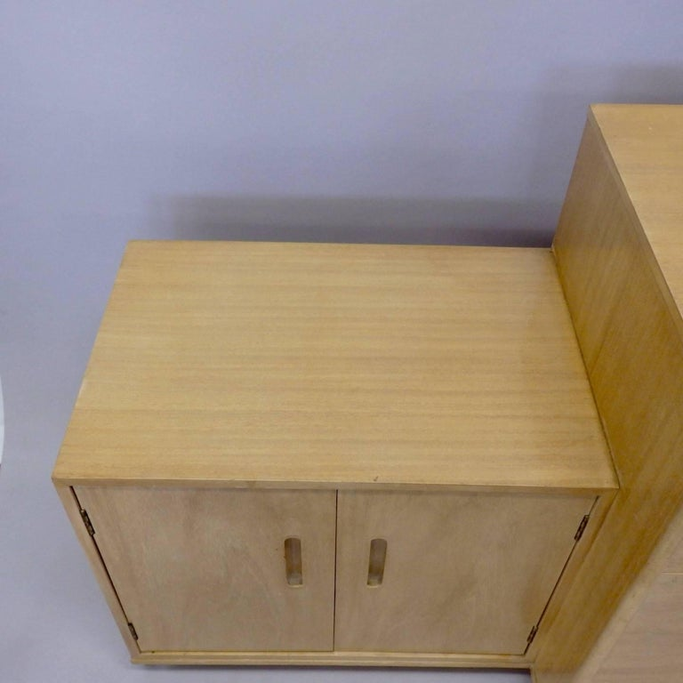 Rare Edward Wormley for Dunbar Custom Contract Right and Left Cabinets For Sale 3