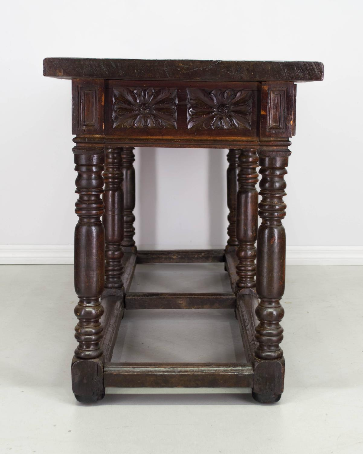 18th century spanish baroque console table at 1stdibs for Spanish baroque furniture