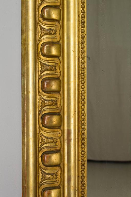 19th Century Louis-Philippe Gilded Mirror For Sale 1