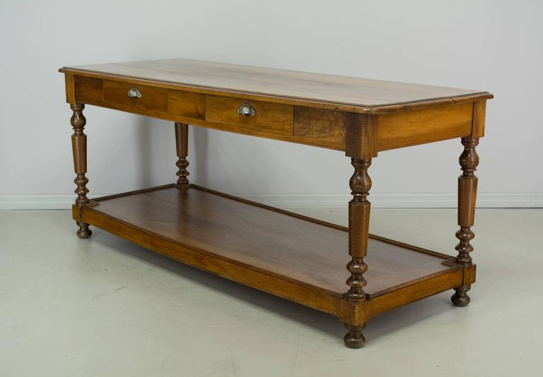 19th century french table de drapier or work table at 1stdibs. Black Bedroom Furniture Sets. Home Design Ideas