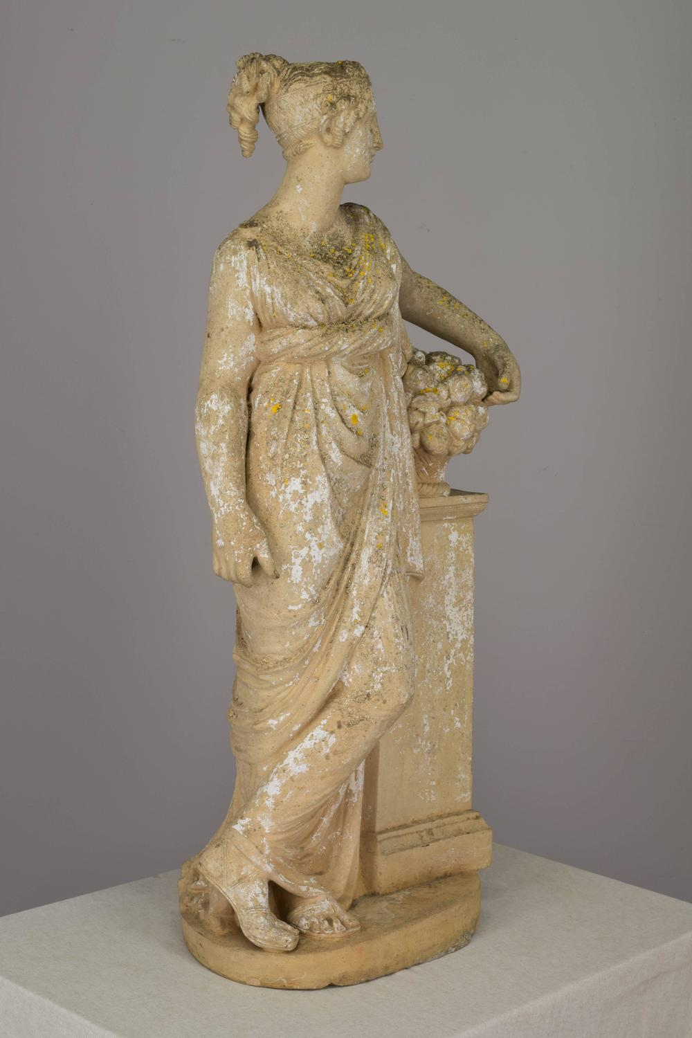 French Neoclassical Garden Statue For Sale at 1stdibs