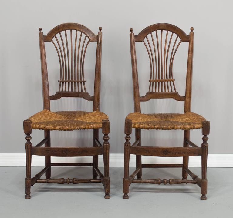 pair of 19th century french country chairs for sale at 1stdibs. Black Bedroom Furniture Sets. Home Design Ideas