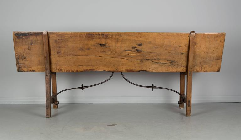 18th Century Spanish Baroque Style Bench For Sale 1