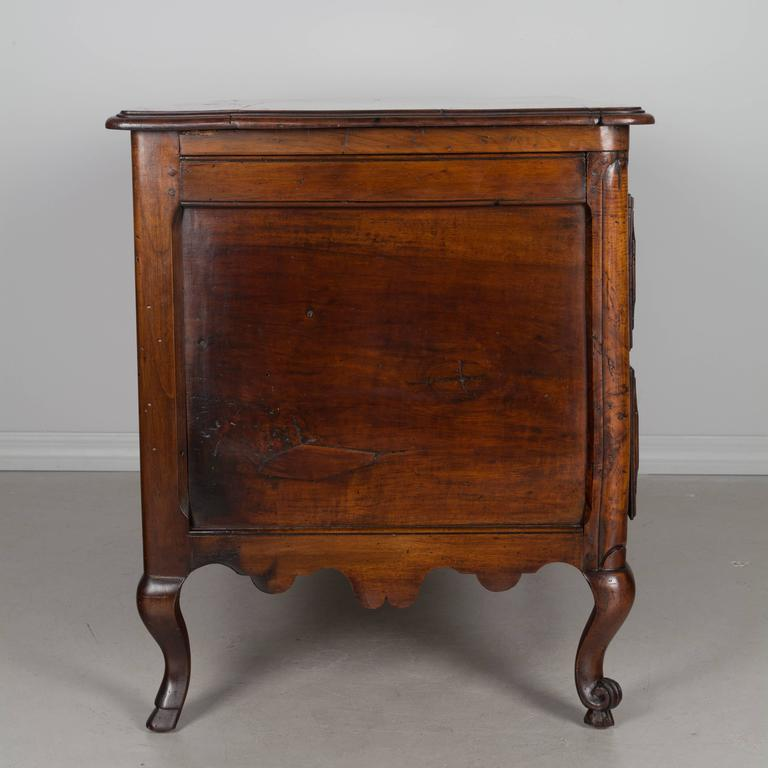 19th Century Louis XV Style Walnut Commode 6