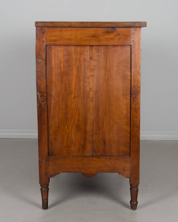 Cherry 19th Century French Directoire Period Commode For Sale