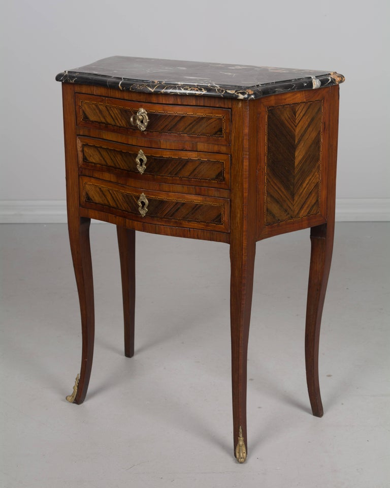 Early 20th Century French Louis Xv Style Side Table For