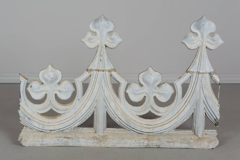18th century french zinc roof decoration for sale at 1stdibs for Decoration zinc