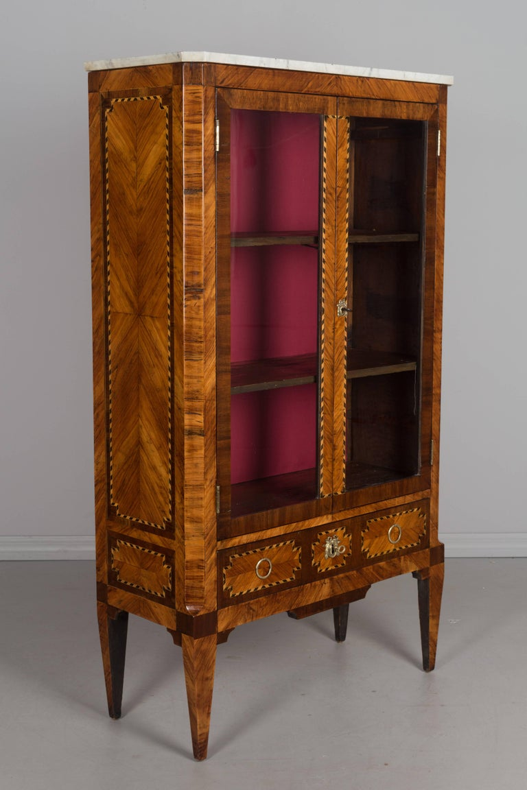 18th century french louis xvi bibliotheque at 1stdibs. Black Bedroom Furniture Sets. Home Design Ideas
