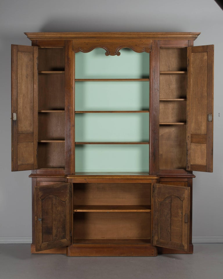 19th century country french bibliotheque for sale at 1stdibs. Black Bedroom Furniture Sets. Home Design Ideas
