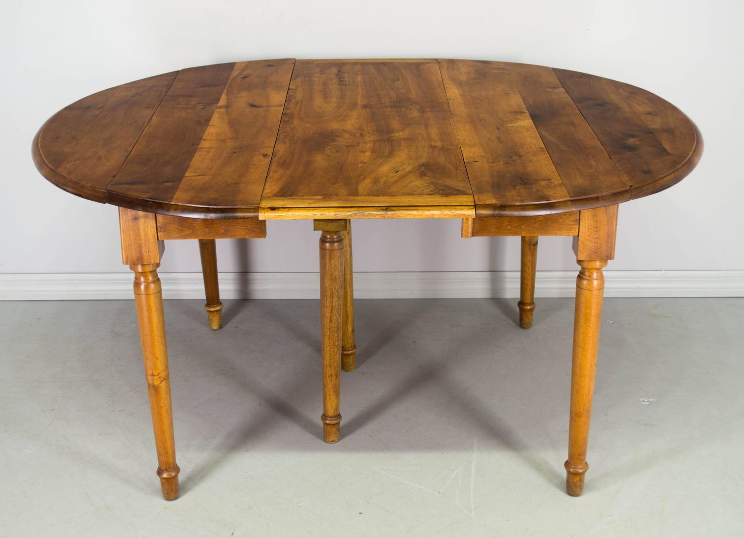 Late 19th century louis philippe style dining table for for Table louis philippe