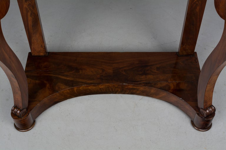 19th Century French Louis-Philippe Console For Sale 1