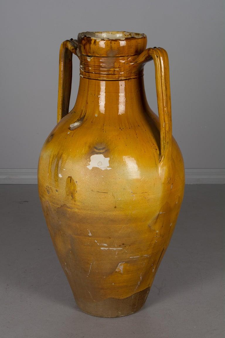 Large 19th Century Italian Terracotta Urn For Sale 1