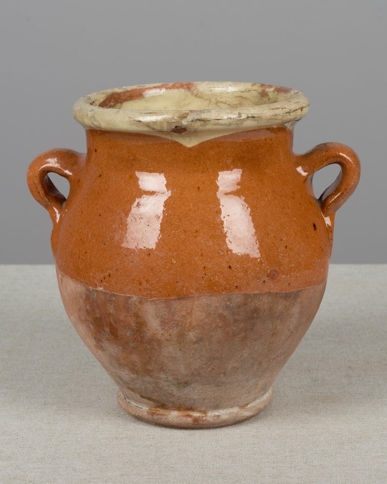 French Terracotta Confit Pot In Good Condition For Sale In Winter Park, FL
