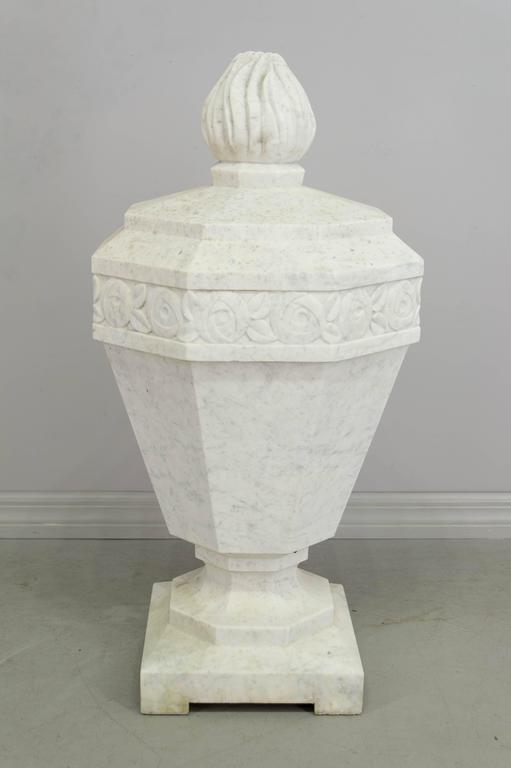 French Art Deco Marble Garden Sculpture For Sale At 1stdibs