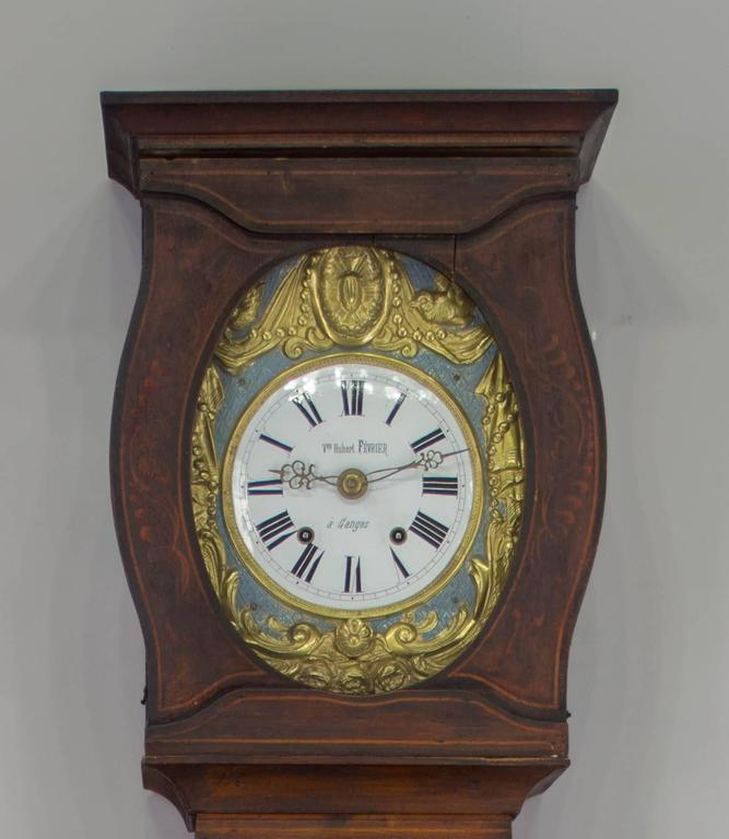 19th century french country comtoise with automated