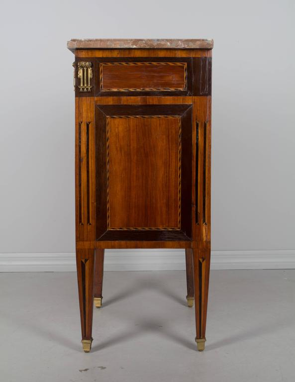 18th Century and Earlier 18th Century Louis XVI Petite Commode For Sale