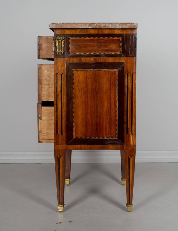 18th Century Louis XVI Petite Commode For Sale 1