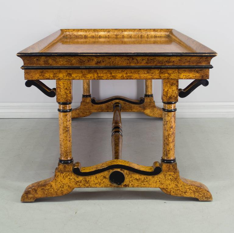 French Charles X Style Coffee Table For Sale At 1stdibs
