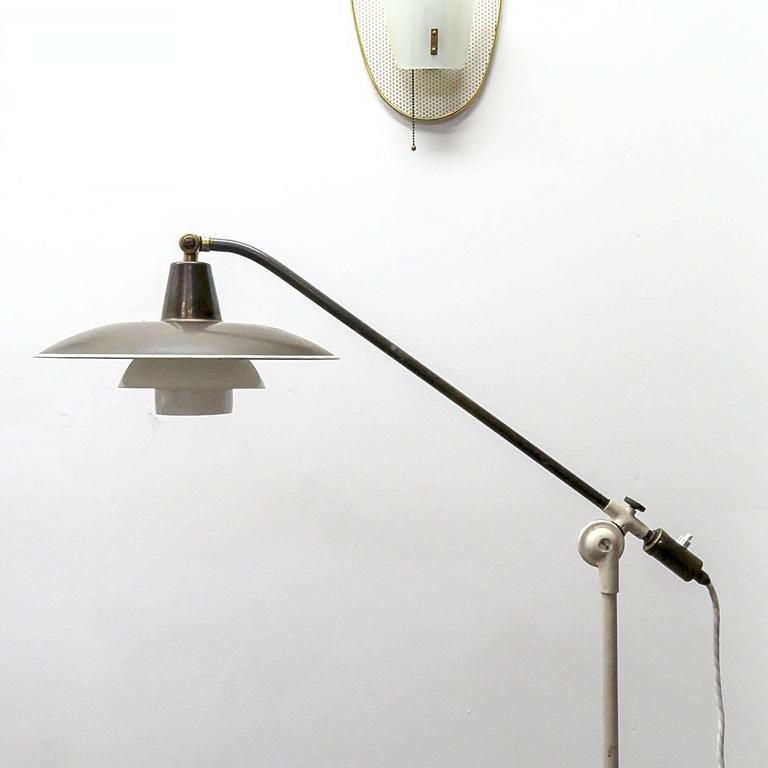 poul henningsen 39 vandpumpen 39 floor lamp 1940 at 1stdibs. Black Bedroom Furniture Sets. Home Design Ideas