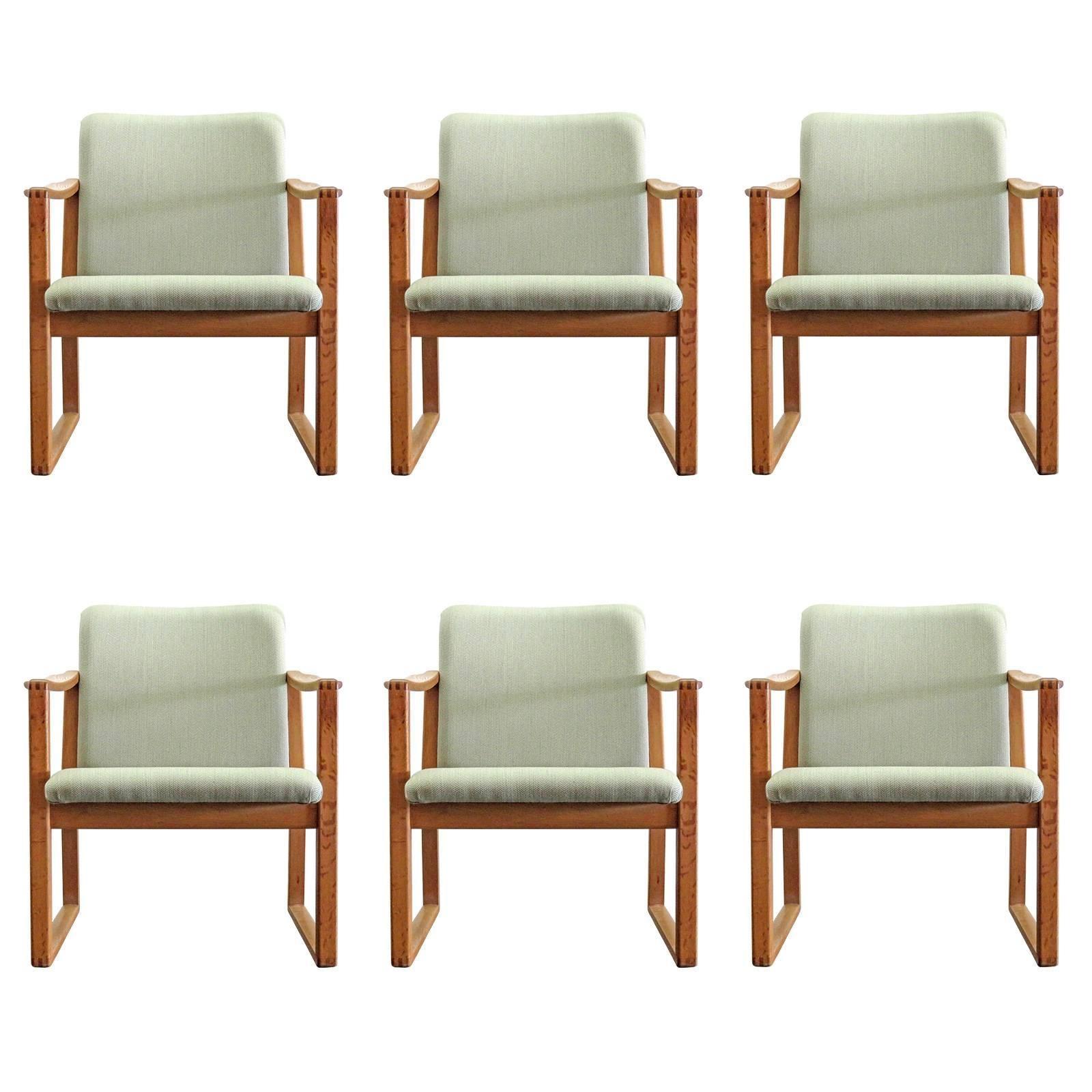 Børge Mogensen Dining Chairs, 1950