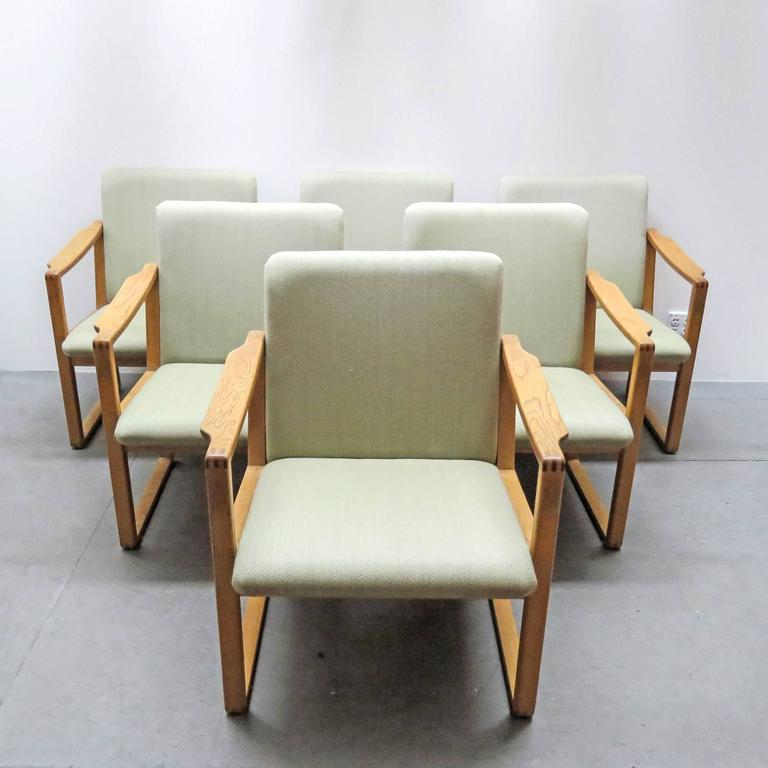 Six Børge Mogensen Dining Chairs For Sale 3