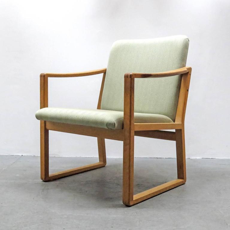 Scandinavian Modern Six Børge Mogensen Dining Chairs For Sale
