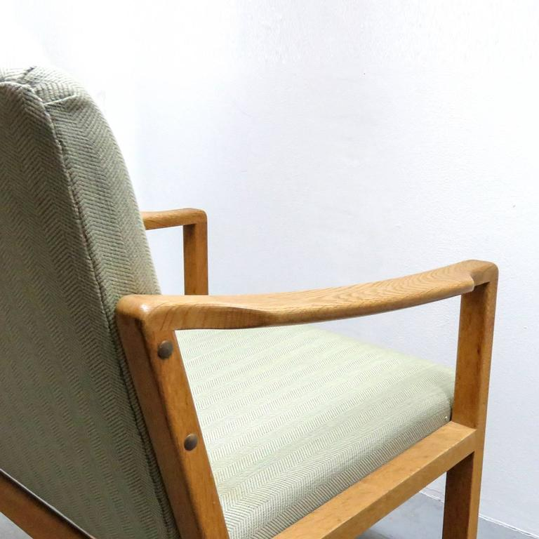 Upholstery Six Børge Mogensen Dining Chairs For Sale