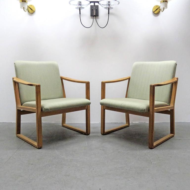 Six Børge Mogensen Dining Chairs For Sale 2