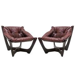 'Luna' Chairs by Odd Knutsen