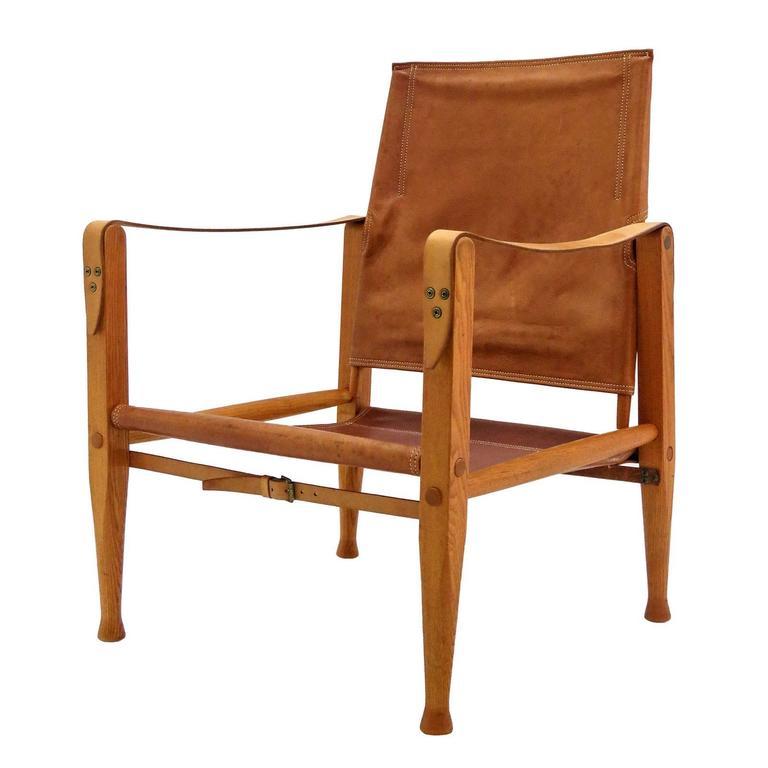 Merveilleux Kaare Klint Safari Chair For Sale
