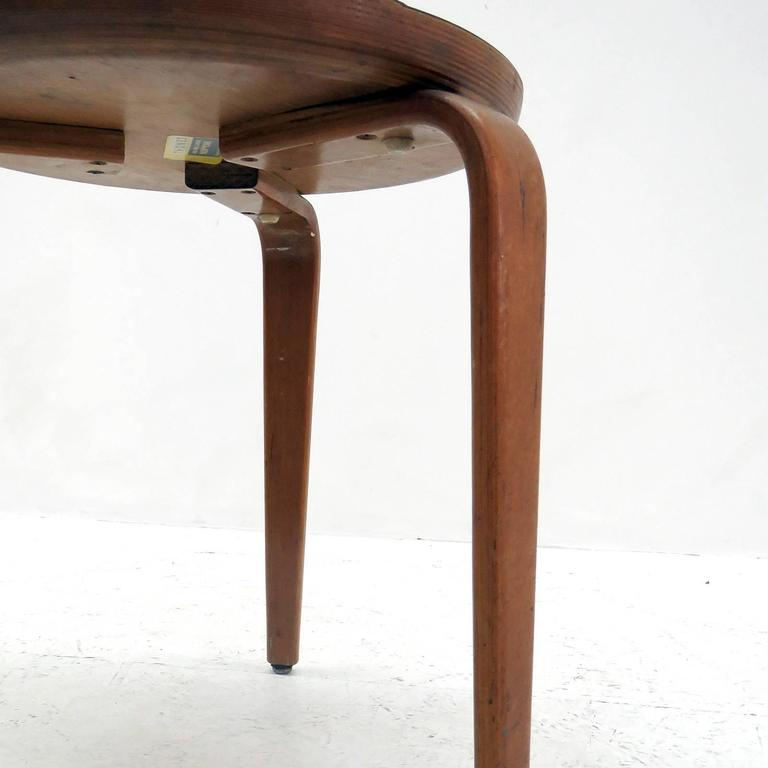 Pair Of Thonet Stools For Sale At 1stdibs