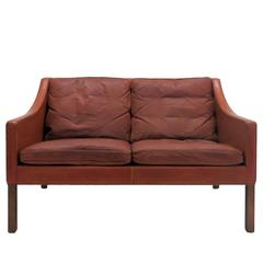 Borge Mogensen Model #2208 Two-Seat Sofa