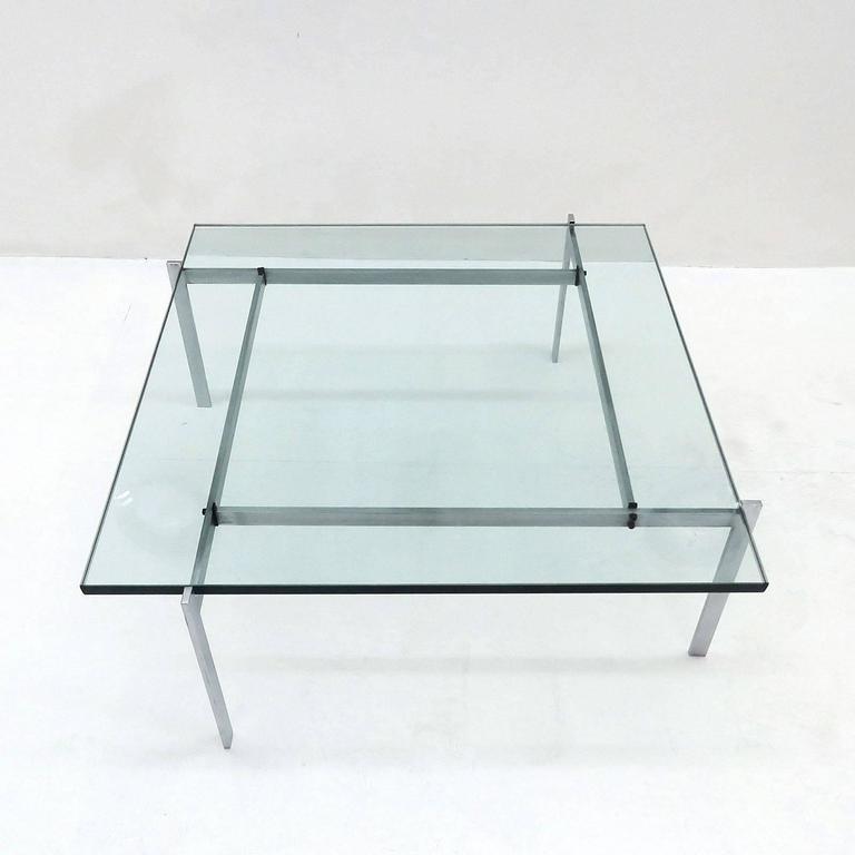 Scandinavian Modern Poul Kjaerholm PK61 for E. Kold Christensen Coffee Table For Sale