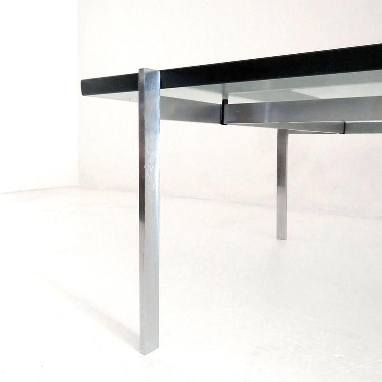 Poul Kjaerholm PK61 for E. Kold Christensen Coffee Table In Good Condition For Sale In Los Angeles, CA