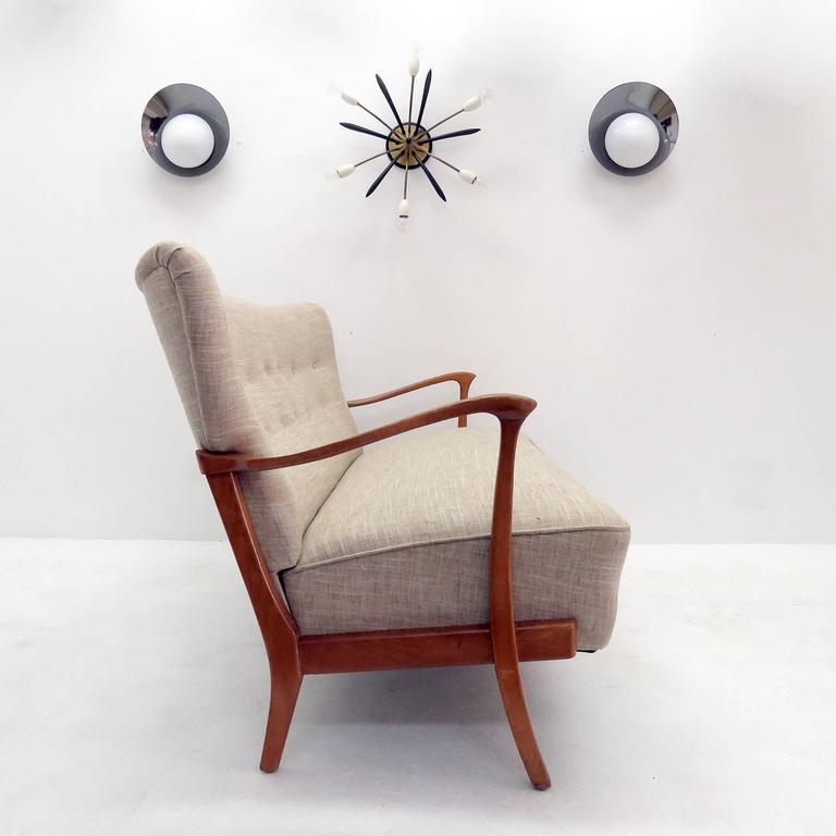 Three-Seat Danish Modern Sofa, 1940 10