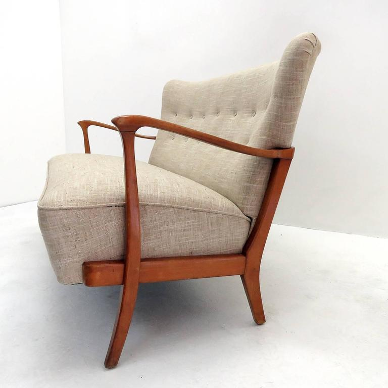 Three-Seat Danish Modern Sofa, 1940 4
