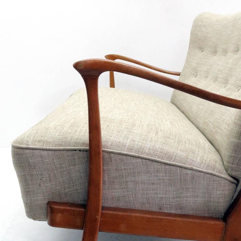 Three-Seat Danish Modern Sofa, 1940 5