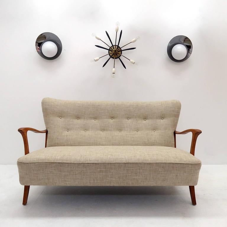 Three-Seat Danish Modern Sofa, 1940 2