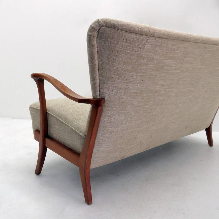Three-Seat Danish Modern Sofa, 1940 6