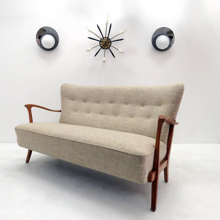 Three-Seat Danish Modern Sofa, 1940 3