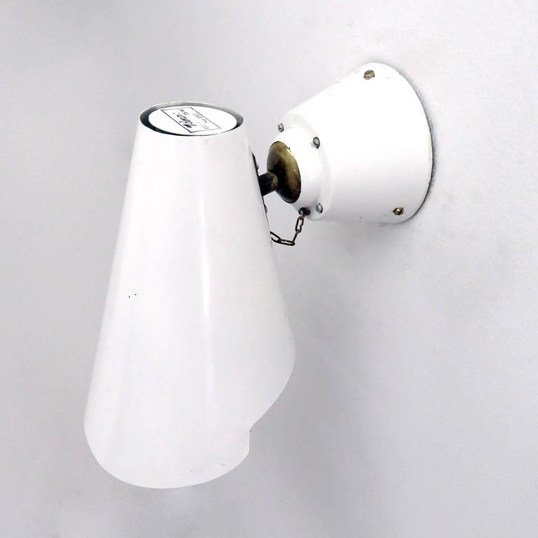 Finnish Pair of Paavo Tynell Wall Lights, Model 2351 For Sale