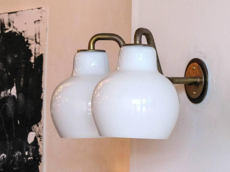 Pair of Vilhelm Lauritzen Double Wall Lights 4