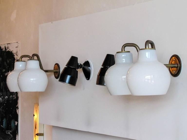 Pair of Vilhelm Lauritzen Double Wall Lights 6